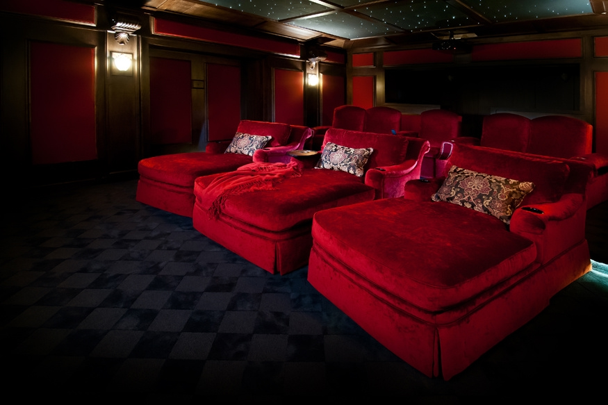 Home Theater Seating Designs | Elite Home Theater Seating