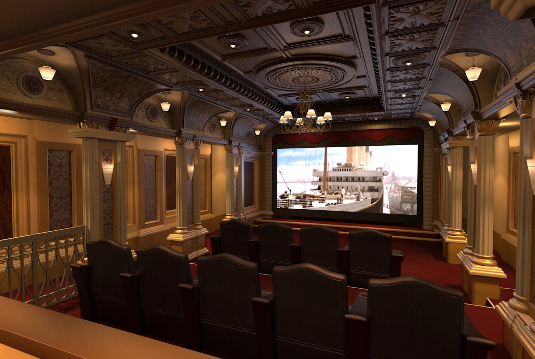 Traditional Theme Theater Concept