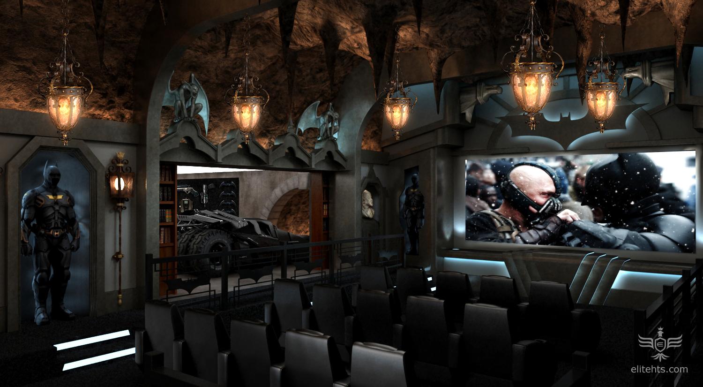 Dark Knight Theme Theater Concept