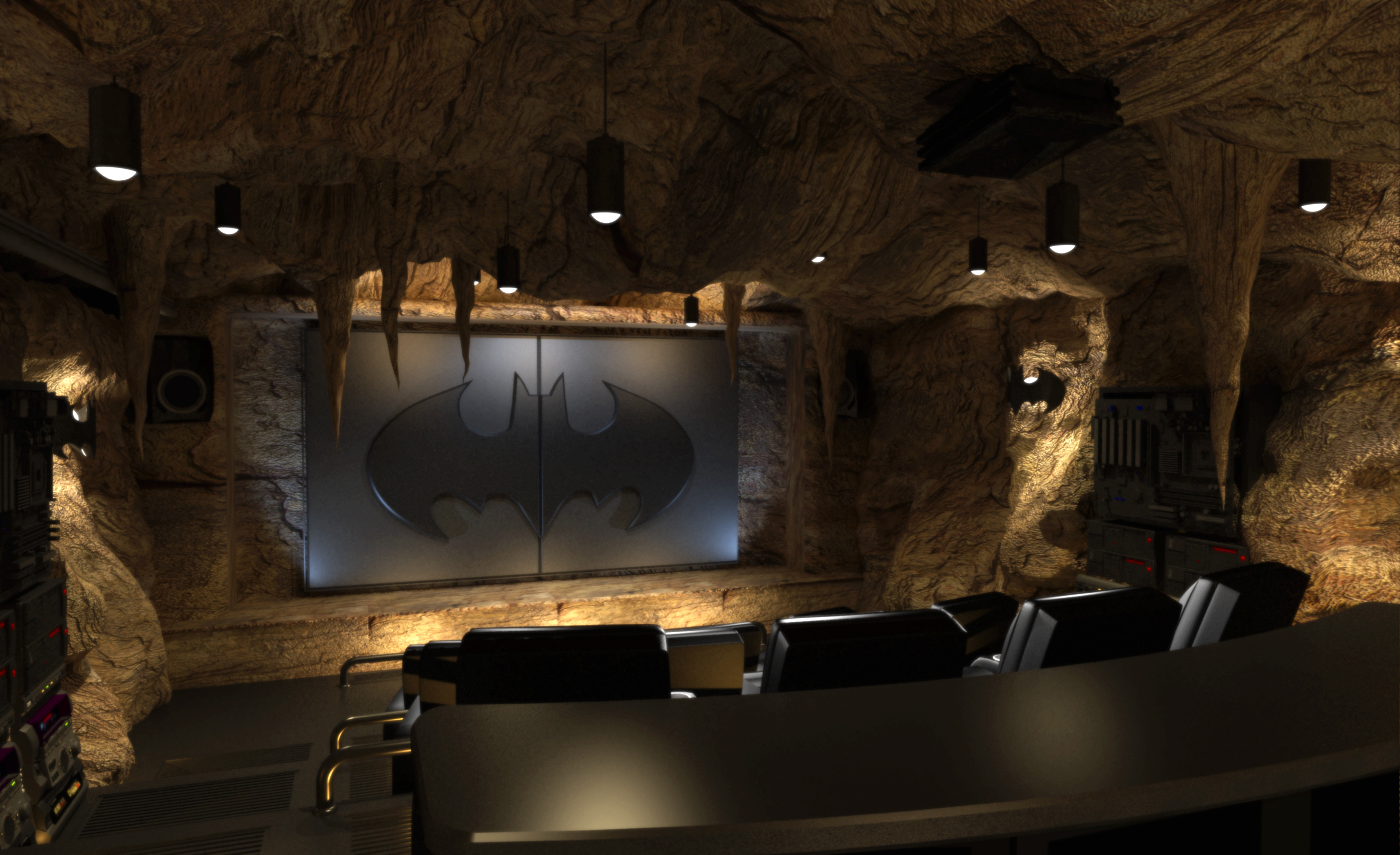 Real Man Cave Ideas : Home theater seating designs elite