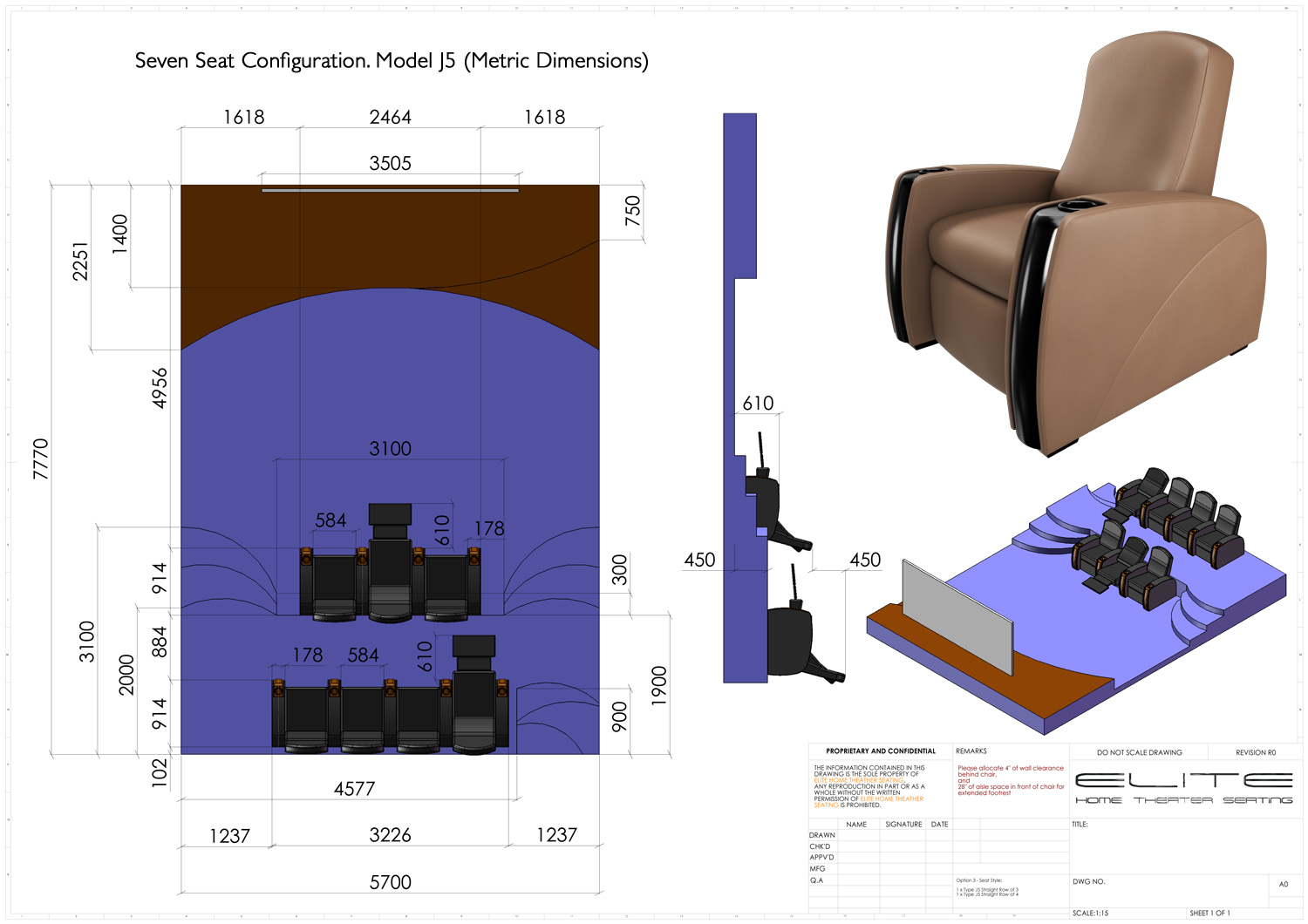 Home theater layout elite home theater seating - Home theatre design layout ...