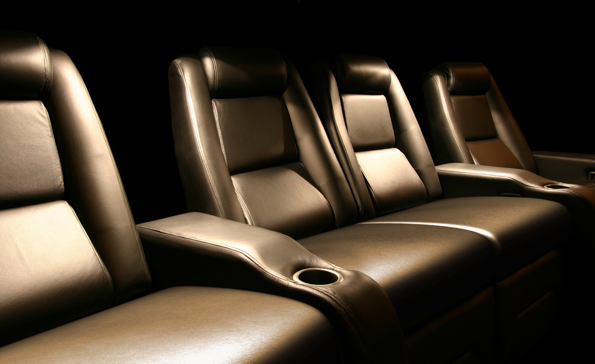 Elite home theater seating cuddle couch -  1950usd Per Seating Position